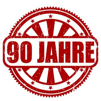 90 Jahre Stempel